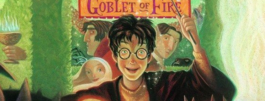 Picture of the cover art for Harry Potter and the Goblet of Fire