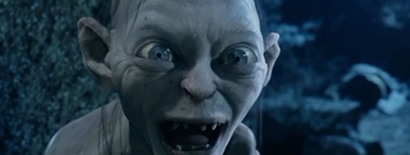 Picture of Gollum from LOTR: The Two Towers